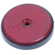 Reflector rond 60 mm rood