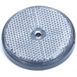 Reflector rond 60 mm wit